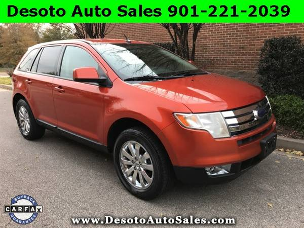2007 Ford Edge Orange Buy Now!