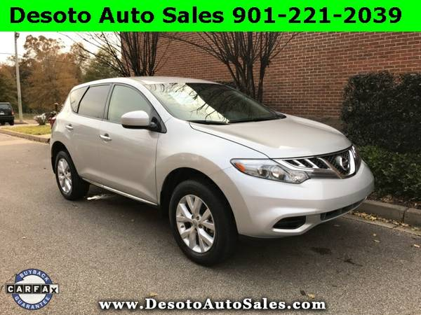 2014 Nissan Murano Silver Buy Now!