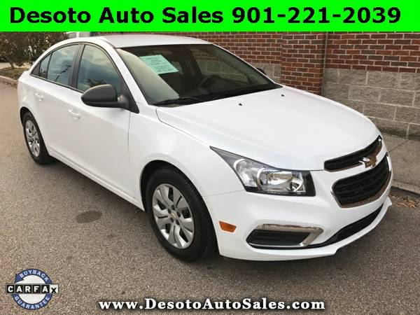 2015 Chevrolet Cruze LS - ONLY 7,368 MILES!!! Clean Carfax, Factory bu