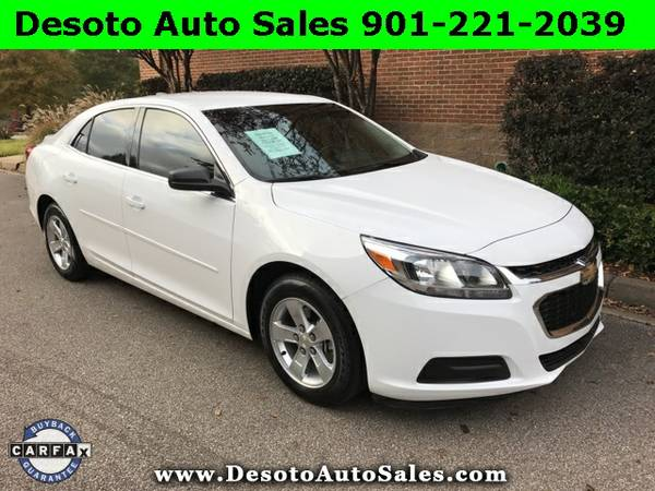 2015 Chevrolet Malibu LS - Only 19K miles, 1 Owner, Clean Carfax, Fact