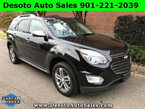 LOADED!!! 2016 Chevrolet Equinox LTZ with NAV - Only 13K miles, 1 Own