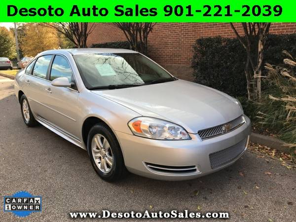 2012 Chevrolet Impala LS - Only 93K miles, 1 Owner, Clean Carfax, Serv