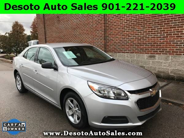 2015 Chevrolet Malibu LS - Only 20K miles, 1 Owner, Clean Carfax, Fact