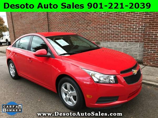 2014 Chevrolet Cruze LT - Only 23K miles, 1 Owner, Clean Carfax, Servi