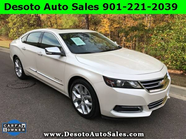 LOADED!!! 2014 Chevrolet Impala LTZ - Only 30K miles, 1 Owner, Clean C