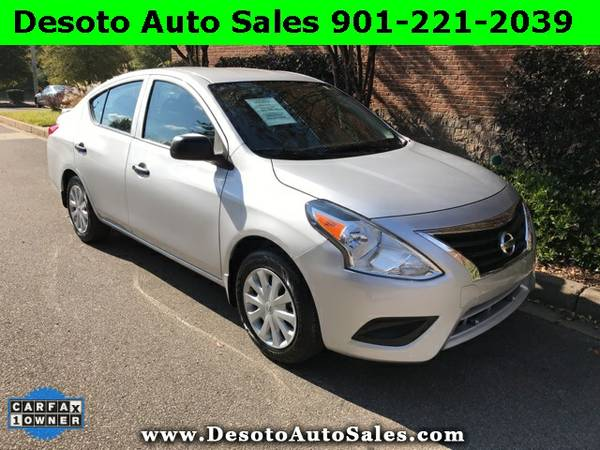 2015 Nissan Versa 1.6 S - Only 10K miles, 1 Owner, Clean Carfax, Serv