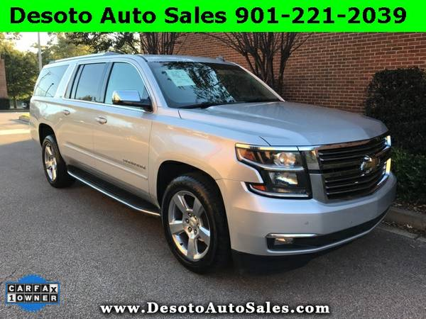 2015 Chevrolet Suburban LTZ - 1 Owner, Clean Carfax, Service records,