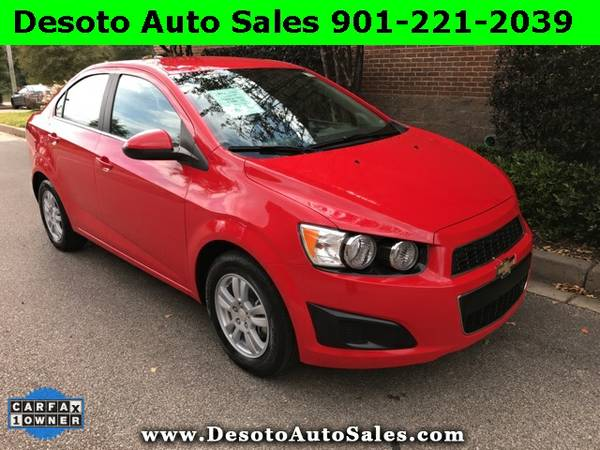 2014 Chevrolet Sonic LT with Low miles, 1 Owner, Clean Carfax, Warrant