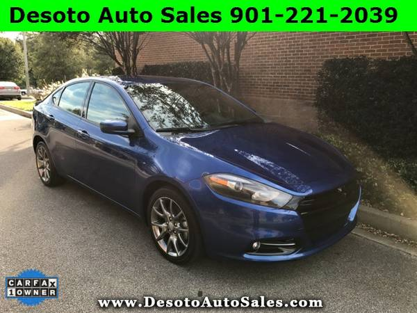 2014 Dodge Dart SXT with Low miles, 1 Owner, Clean Carfax, Service rec