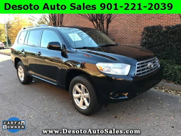 2009 Toyota Highlander - 1 Owner, Clean Carfax, Service records, Autom