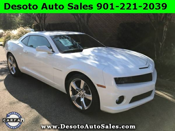 2010 Chevrolet Camaro SS V8 - 2SS Equipment package, 6.2L V8 engine, A