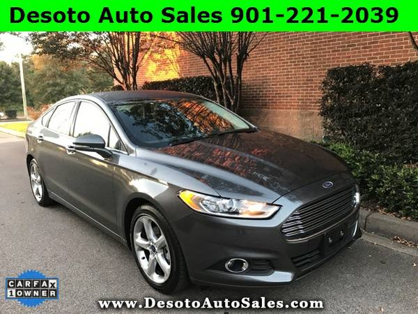 2016 Ford Fusion SE with an Appearance package - Just 21K miles, 1 Own