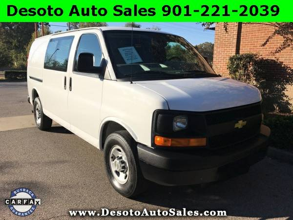 2014 Chevrolet Express 2500 Cargo Work Van - Clean Carfax, Service rec