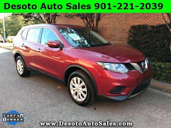 2015 Nissan Rogue S Low miles, 1 Owner, Clean Carfax, Warranty, Automa