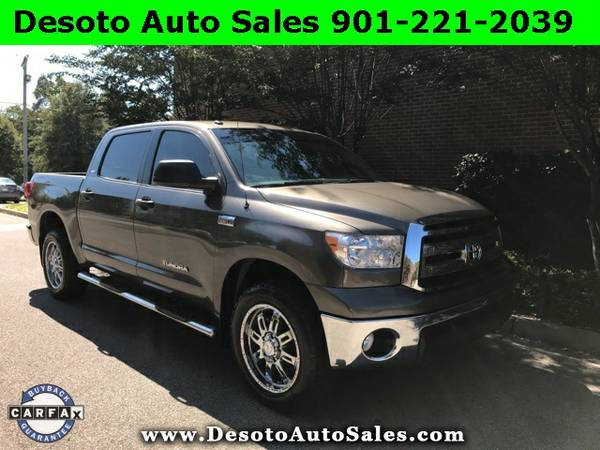 2013 Toyota Tundra Grade Low miles, Clean Carfax, Warranty, V8 engine,