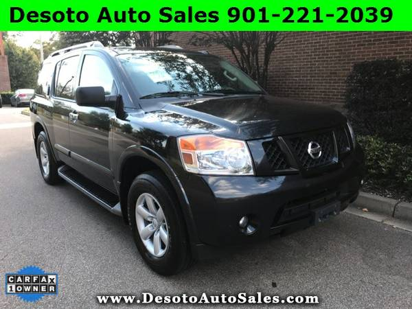2015 Nissan Armada SV Low miles, 1 Owner, Clean Carfax, Warranty, V8 e