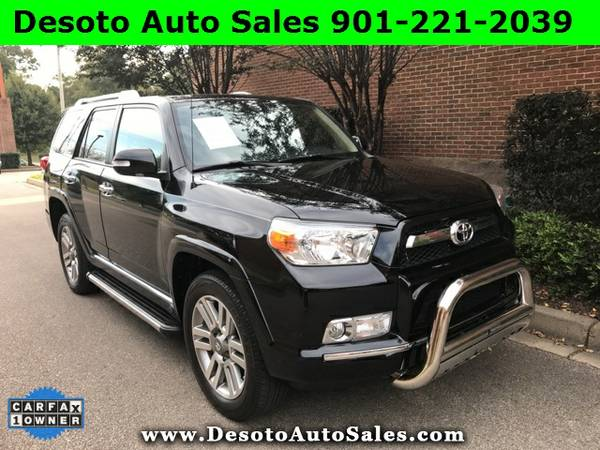 2013 Toyota 4Runner Limited Low miles, 1 Owner, Clean Carfax, Warranty