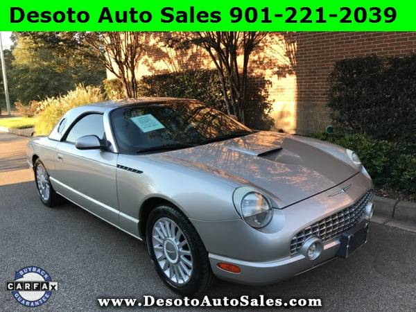 2004 Ford Thunderbird Base Low miles, V8 engine, Automatic transmissio