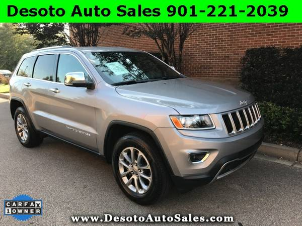 2015 Jeep Grand Cherokee Limited Low miles, 1 Owner, Clean Carfax, War