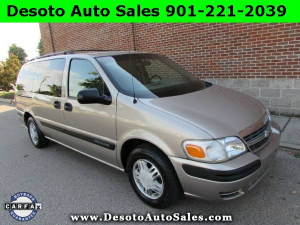 2003 Chevrolet Venture LT 7 Passenger Van - Clean Carfax, 3.4L V6 engi