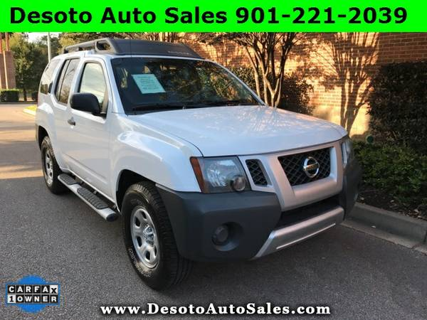 2012 Nissan Xterra X 1 Owner, Clean Carfax, V6 engine, Automatic trans