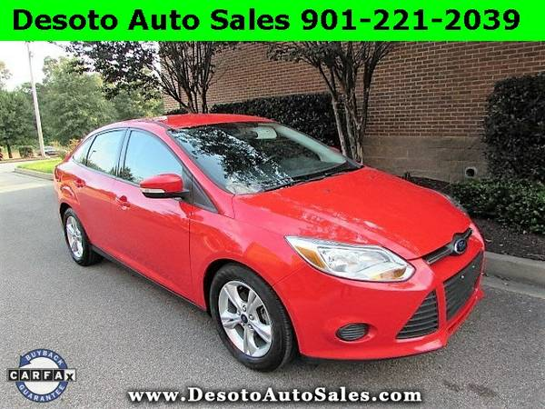 SAVE $1325 OFF RETAIL!!! 2013 Ford Focus SE with Low Miles - The Black