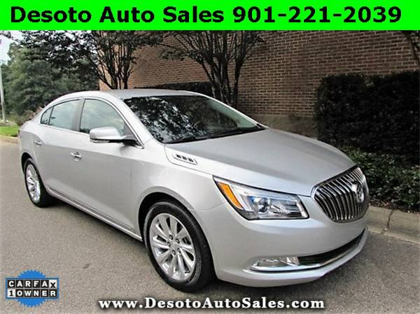 SAVE $3150 OFF RETAIL!!! 2016 Buick Lacrosse Leather Group - The Blac