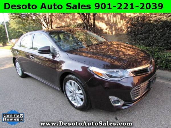 2015 Toyota Avalon XLE - Just 39K miles, 1 Owner, Clean Carfax, Warran