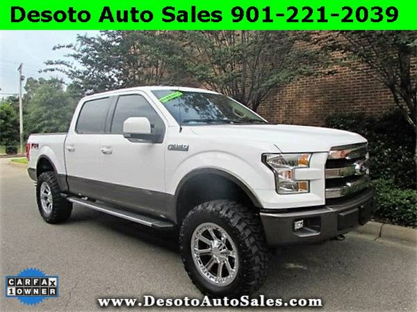 2015 Ford F-150 Lariat SuperCrew 4WD FX4 - Just 1 Owner, Only 12K mile