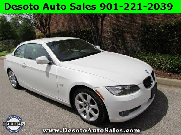 2010 BMW 3 Series 335i Convertible with NAV - Clean Carfax, Service re