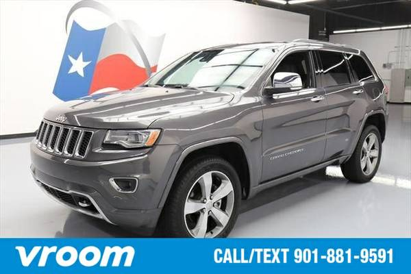 2014 Jeep Grand Cherokee Overland 7 DAY RETURN / 3000 CARS IN STOCK