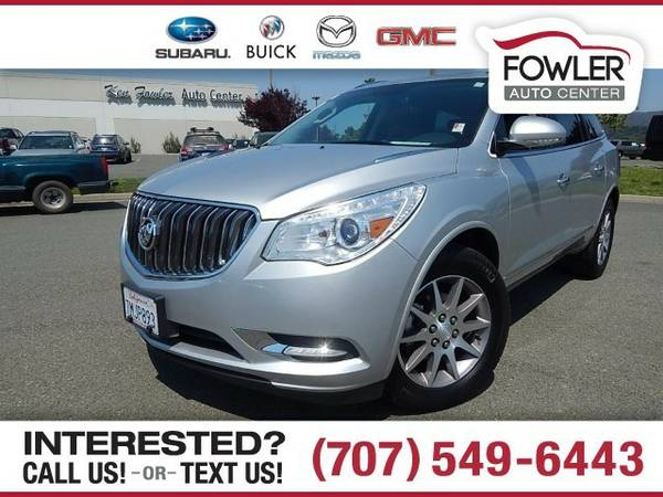 2016 Buick Enclave Leather SUV Enclave Buick
