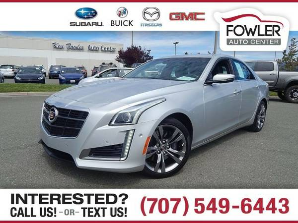 2014 Cadillac CTS Performance Sedan CTS Cadillac