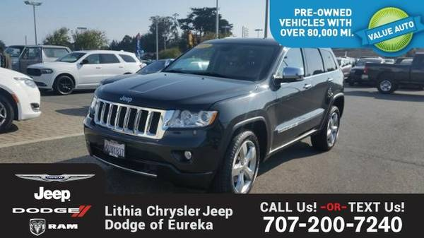 2011 Jeep Grand Cherokee OVERLAND (You Save $1,786 Below KBB Retail)