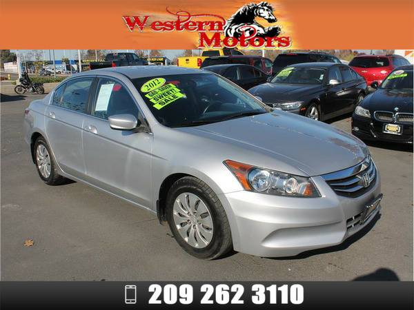*2012* *Honda Accord* *LX Sedan 4D* Silver