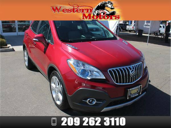 *2015* *Buick Encore* *Convenience Sport Utility 4D* Red