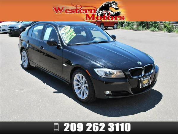 *2011* *Bmw 3 Series* *328i Sedan 4D* Black