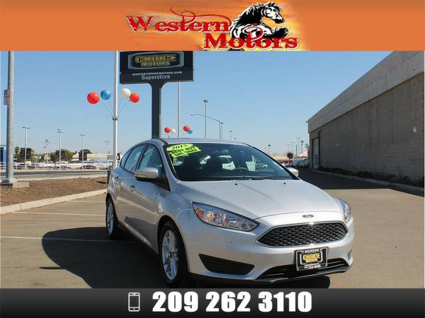 *2015* *Ford Focus* *SE Hatchback 4D* Silver