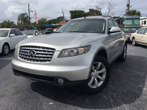 2006 INFINITI FX35 CLEAN TITLE !!! EASY FINANCE !!!