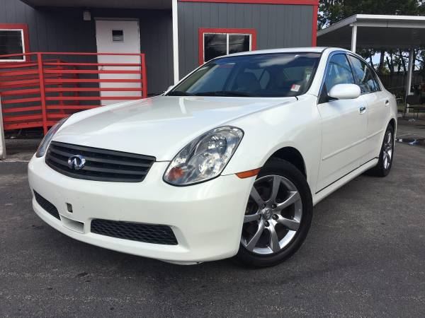 2005 INFINITI G35 LUXURY CLEAN TITLE !!! EASY FINANCE !!!