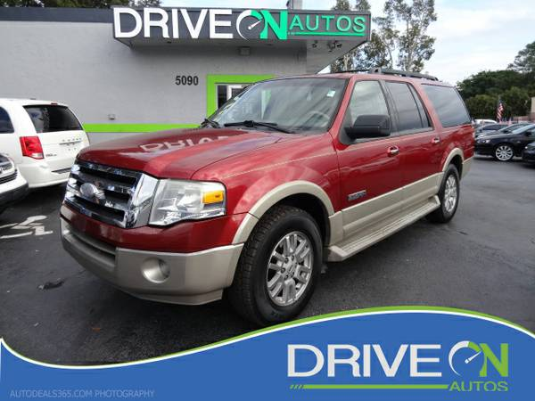 08 Ford Expedition EL Eddie Bauer 2WD!! like new!!