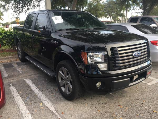 2011 FORD F-150 FX2 - S/ROOF - NAV - RUNNING BOARDS $12,997 A/F 1OWNER