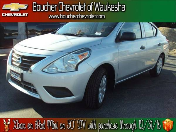 2015 Nissan Versa 1.6 S*Like New*5 Speed*Low Miles*WI Largest*SAVE$$