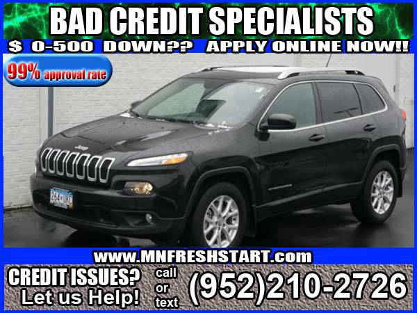 █* 2015 *JEEP* *CHEROKEE* *BAD* or *NO* *CREDIT* ok! *█