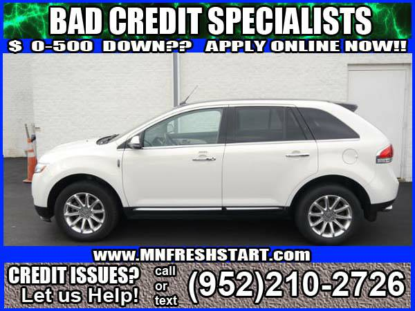 █* 2013 *LINCOLN* *MKX* *BAD* or *NO* *CREDIT* ok! *█