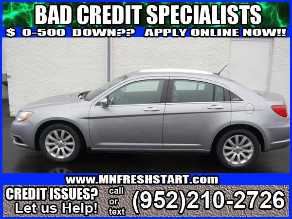 █*2014 *CHRYSLER* *200*BAD CREDIT*NO CREDIT*REPO*OK! █