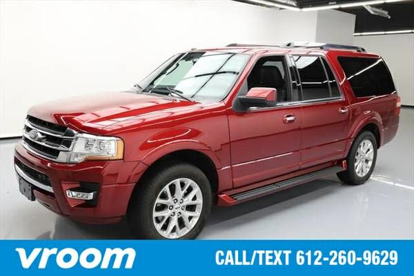 2016 Ford Expedition EL Limited 7 DAY RETURN / 3000 CARS IN STOCK