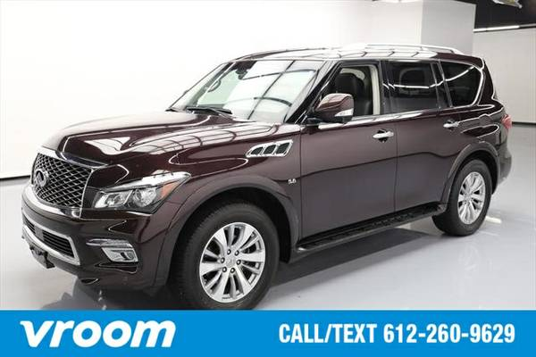 2016 Infiniti QX80 7 DAY RETURN / 3000 CARS IN STOCK