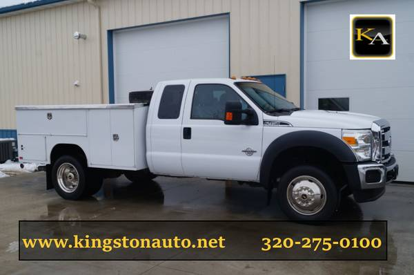 2015 Ford F450 XLT - 4WD 6.7L Diesel - Service Utility Truck