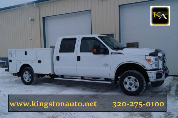 2012 Ford F350 XLT - 4WD 6.7L Diesel - Service Utility Truck